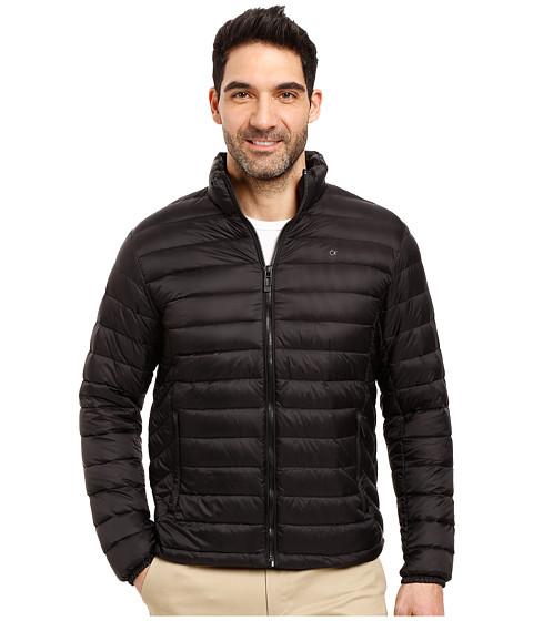 Calvin Klein Packable Down Jacket - Black