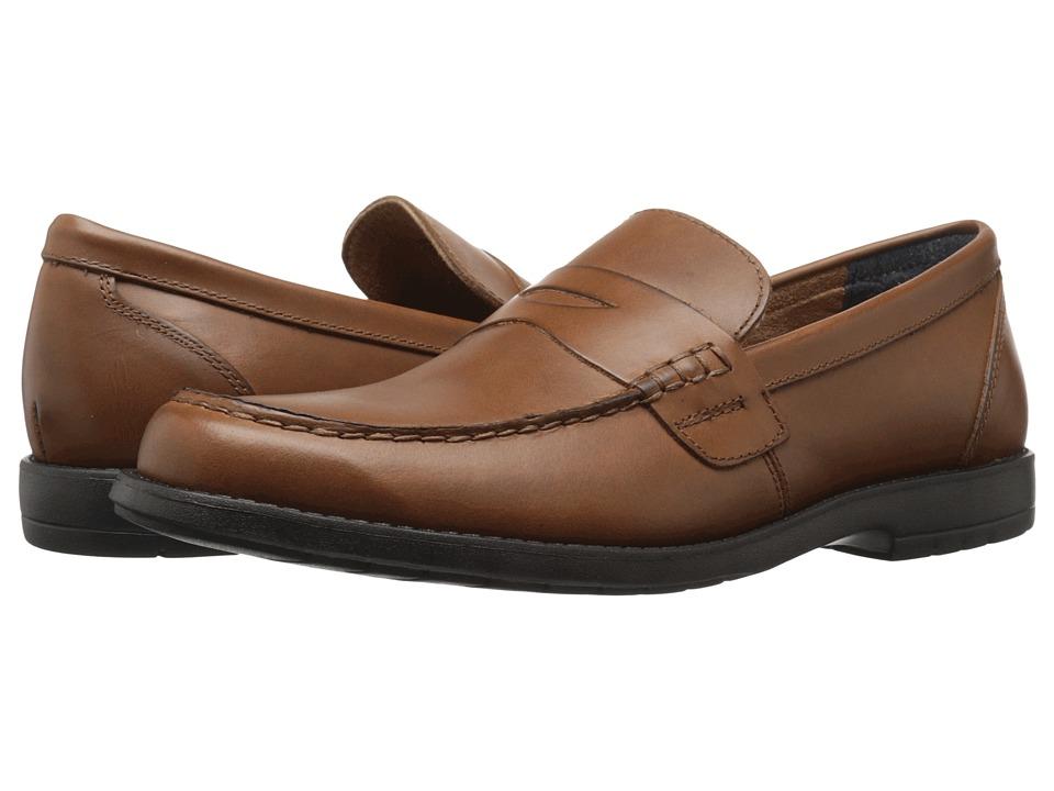 Nunn Bush - Appleton Moc Toe Penny Loafer (Saddle Tan) Men