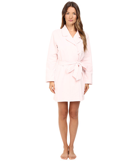 Kate Spade New York Brushed French Terry Robe - Pastry Pink Beauty Sleep