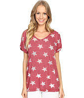Allen Allen - Allover Star Short Sleeve Tee