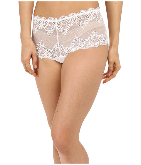 Only Hearts So Fine Lace Cheeky Brief - White
