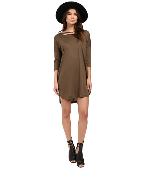 Culture Phit Arbor Dolman Sleeve Dress - Olive