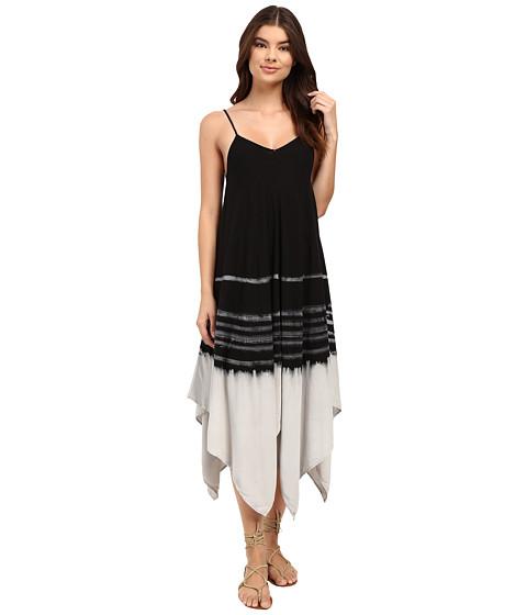 Culture Phit Calico Flowy Tie-Dye Midi Dress