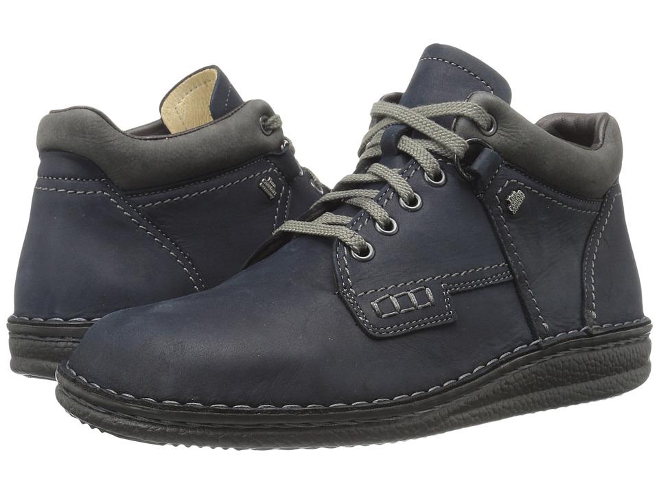 Finn Comfort Linz (Marine/Asphalt) Lace up casual Shoes