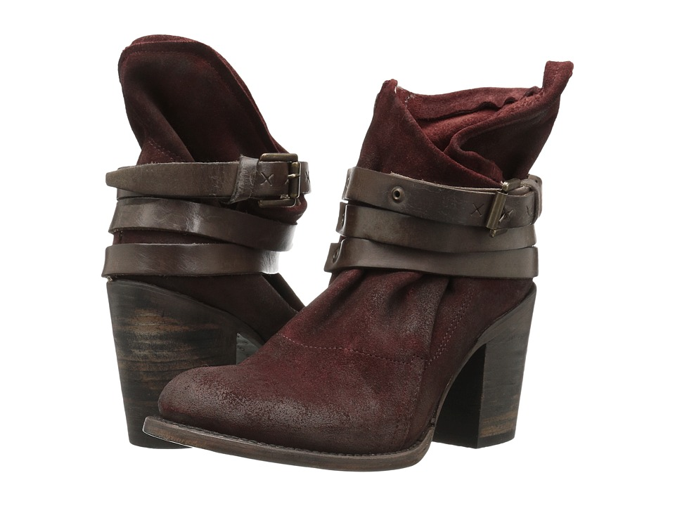 Freebird Blaze (Wine Suede) Women