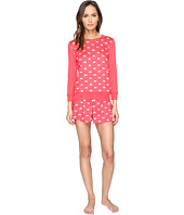 Kate Spade New York - Sateen & Modal Jersey Skort Pajama Set
