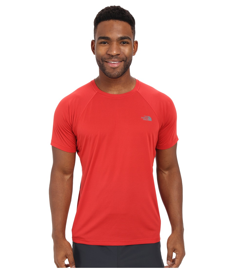 The North Face Better Than Naked Short Sleeve Shirt Pompeian Red/TNF Black Mens Short Sleeve Pullover