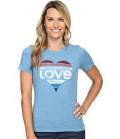 Life is good - Love Heart Cool Tee