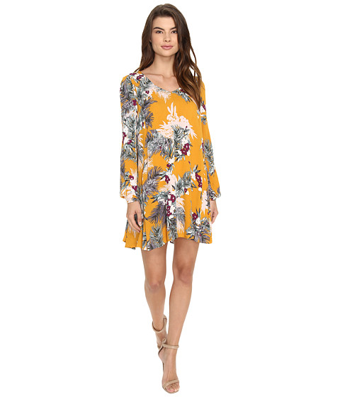Brigitte Bailey Uma Long Sleeve Dress - Marigold
