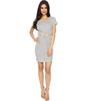Brigitte Bailey - Graceanne Short Sleeve Front-Knot Dress