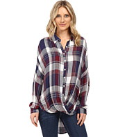 Brigitte Bailey - Tana Long Sleeve Plaid Top