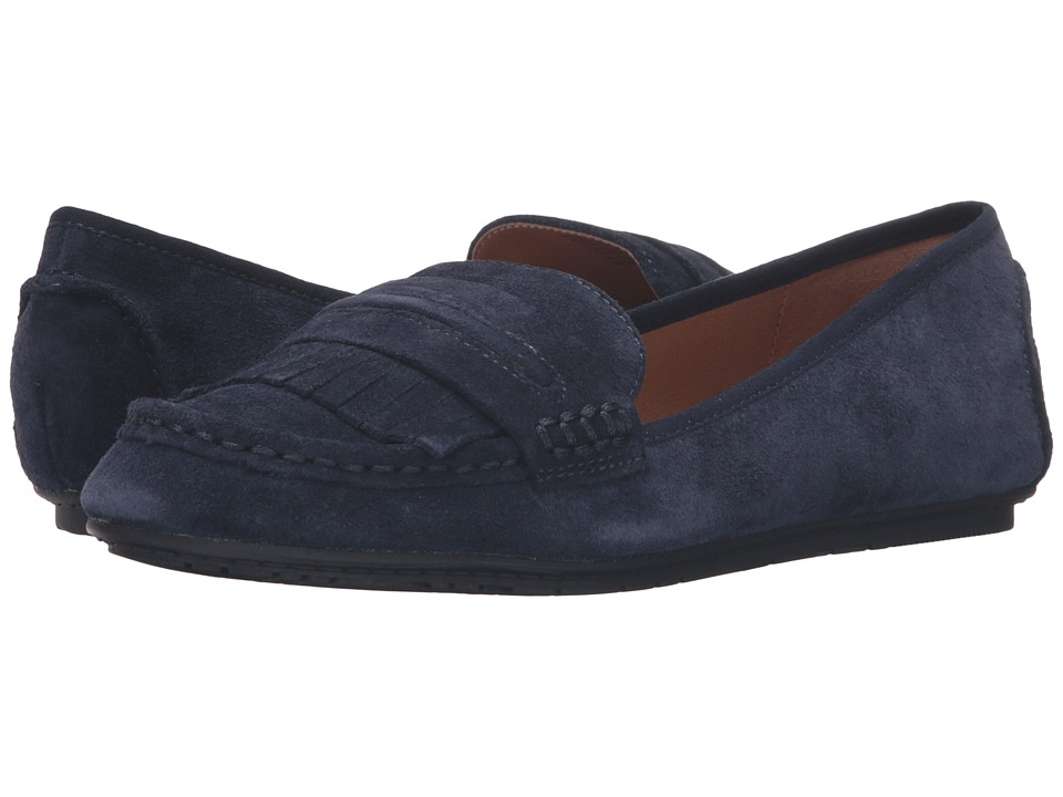 Kenneth Cole Reaction - Bare-Ing (Navy Suede) Women