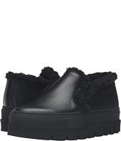 MM6 Maison Margiela - Platform Shearling Trim Sneaker