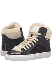 MM6 Maison Margiela - Shearling Trim High Top