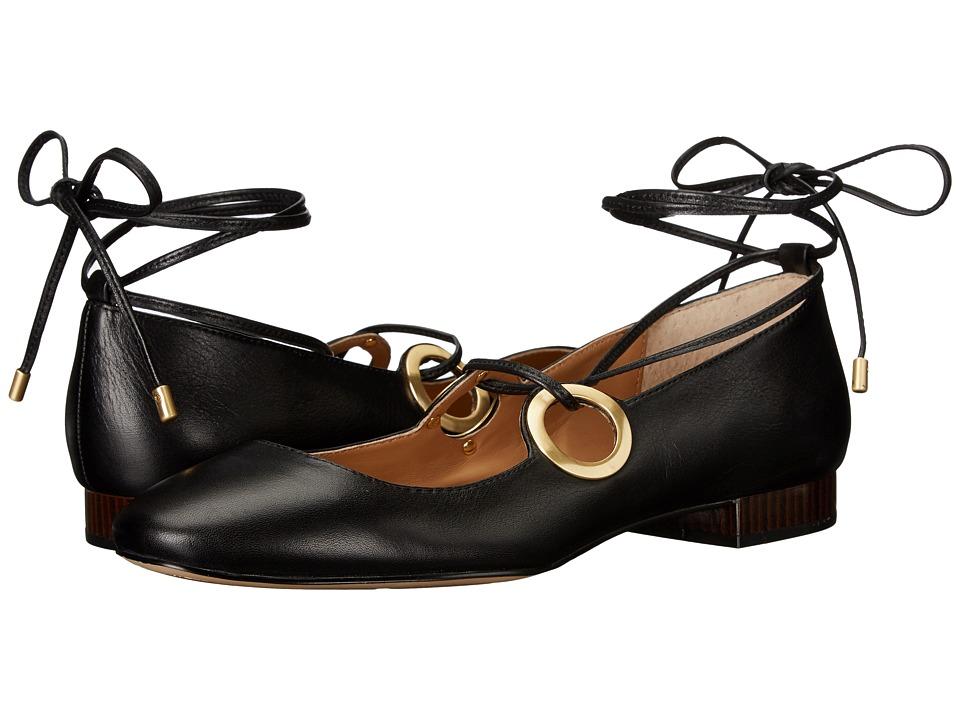 Calvin Klein - Aubree (Black Leather) Women