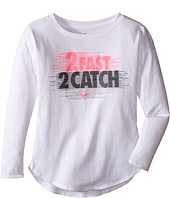 Nike Kids - 2 Fast 2 Catch Modern Long Sleeve Tee (Toddler)