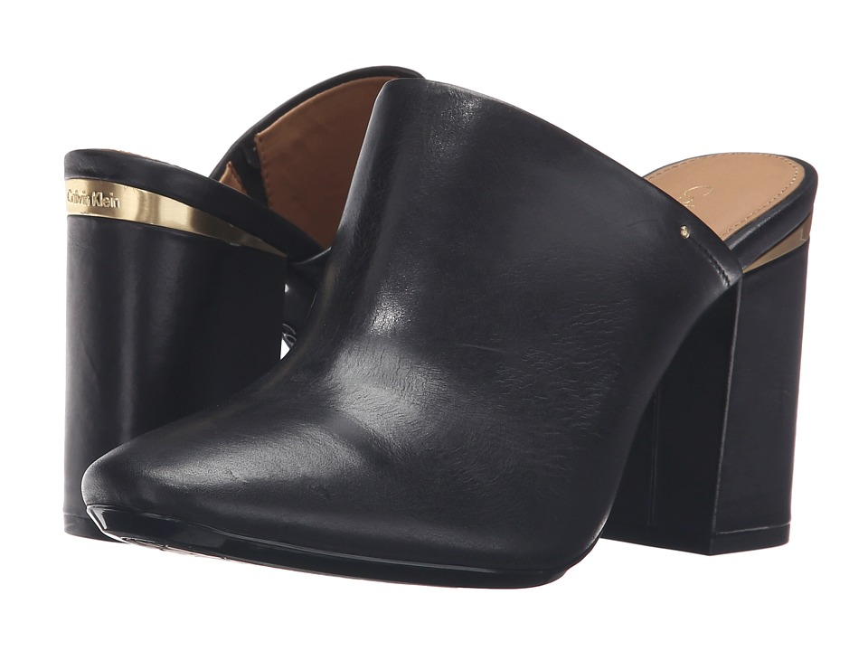 Calvin Klein - Cantha (Black Leather) Women
