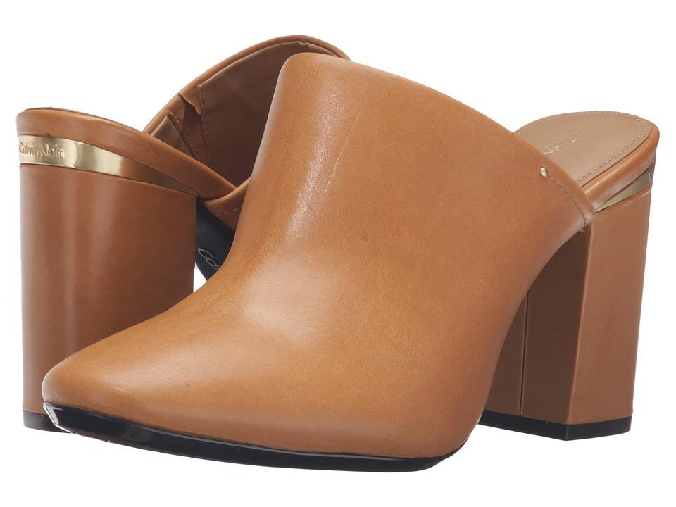 Calvin Klein - Cantha (Almond Tan Leather) Women