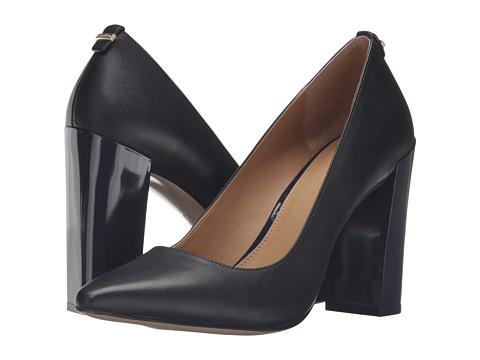 Calvin Klein Neema - Black/Deep Navy Leather