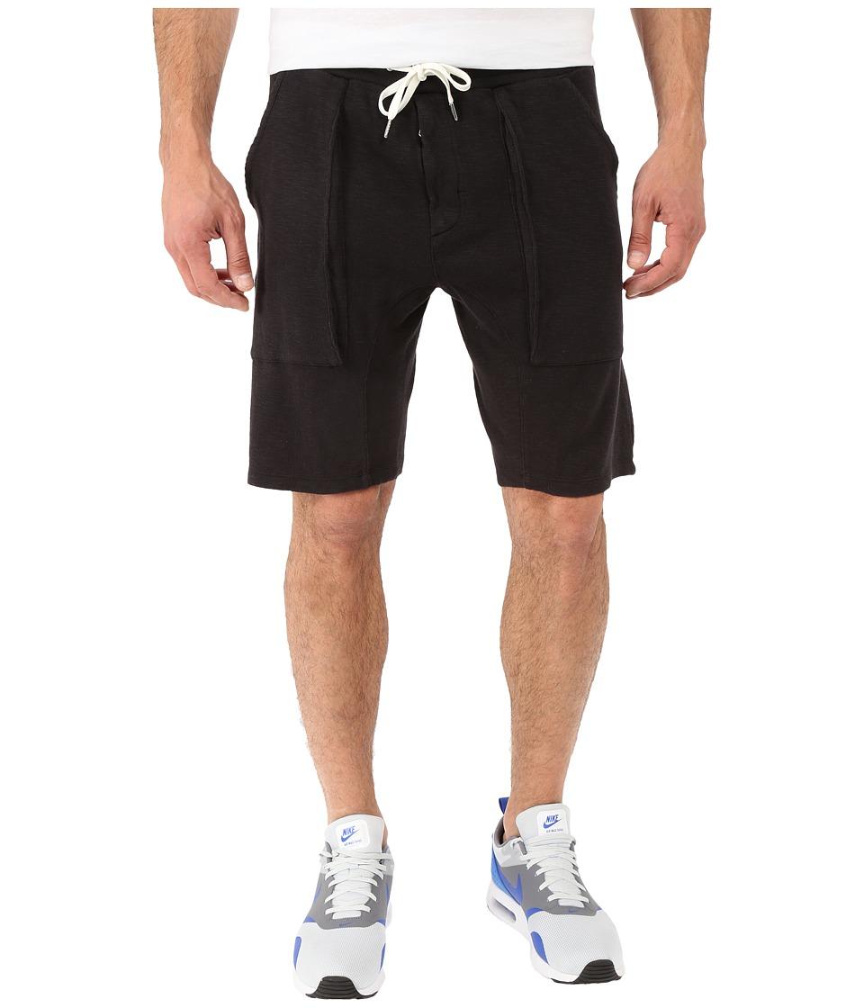 Joes Jeans Cohen Jogger Shorts in Jet Black Jet Black Mens Shorts