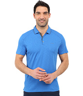 Calvin Klein - Classic Fit Liquid Cotton Tipped Polo Shirt