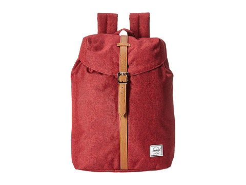 Herschel Supply Co. Post - Winetasting Crosshatch/Tan Synthetic Leather