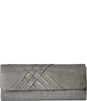 Jessica McClintock - Addison Glitter Flap Clutch