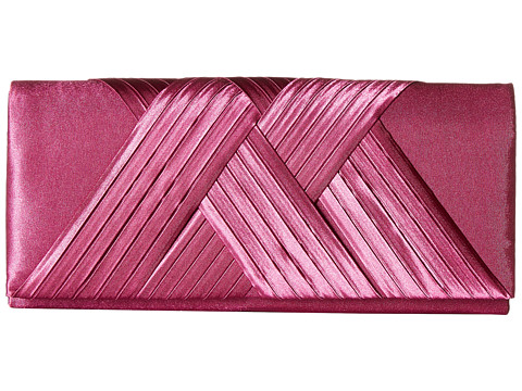 Jessica McClintock Abbey Satin Clutch