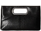 Tiffany Embossed Snake Clutch