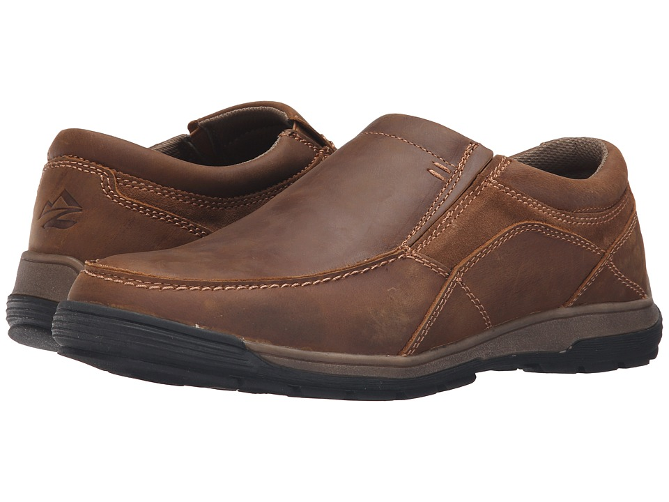 Nunn Bush Lasalle Twin Gore Moc Toe Slip-On (Toffee) Men