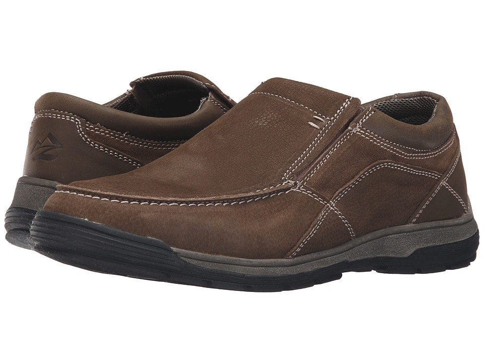 Nunn Bush - Lasalle Twin Gore Moc Toe Slip-On (Stone) Men