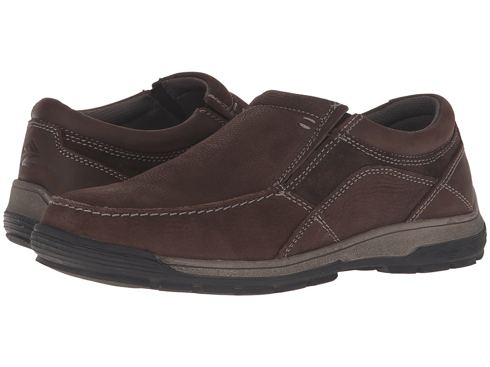 Nunn Bush Lasalle Twin Gore Moc Toe Slip-On (Coffee) Men