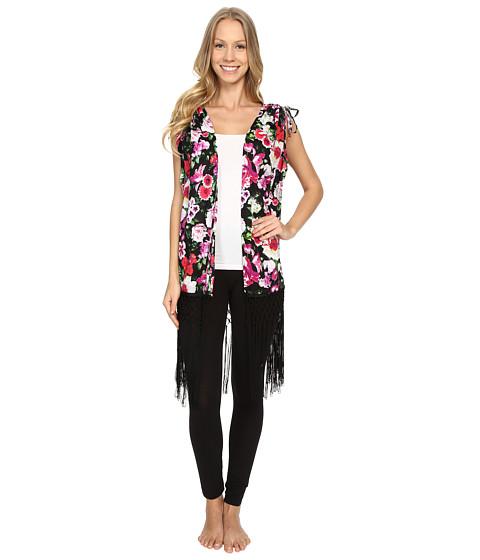 Betsey Johnson Fringe Kimono