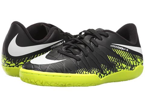 Nike Kids Jr Hypervenom Phelon II IC Soccer (Toddler/Little Kid/Big Kid)