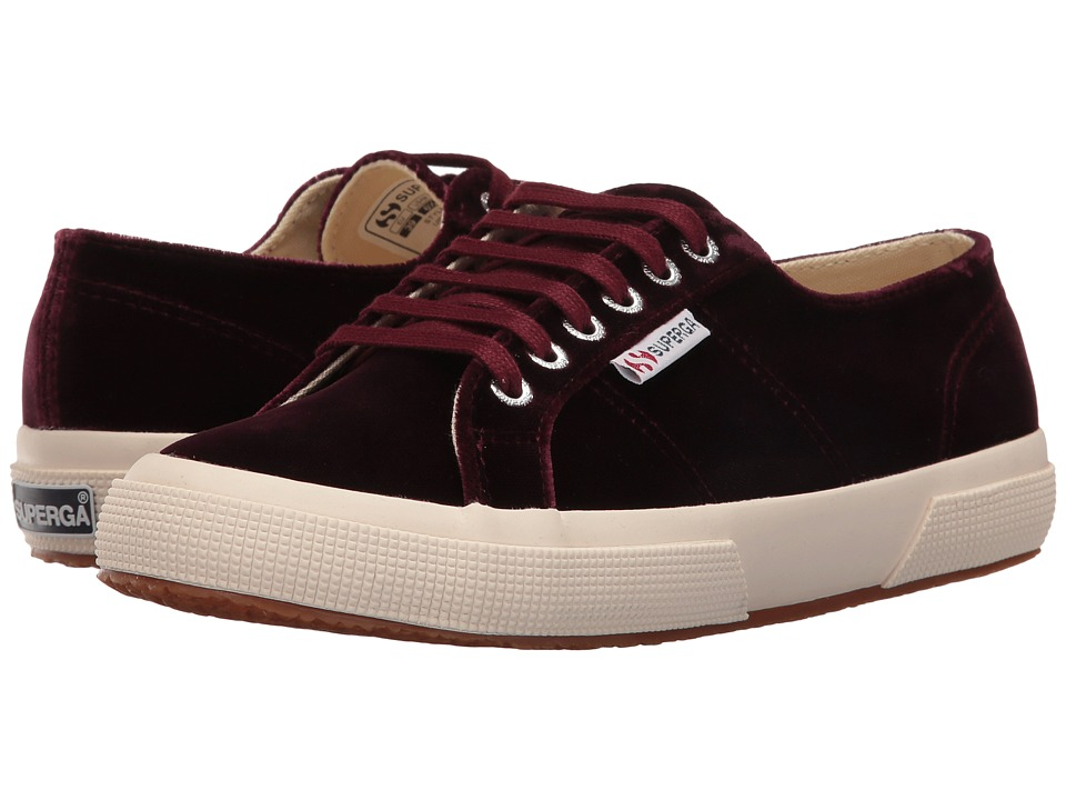 Superga - 2750 Velvetw (Violet Prune) Women