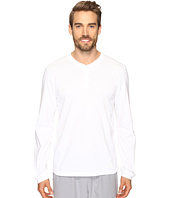 adidas - Postgame Long Sleeve Henley Top