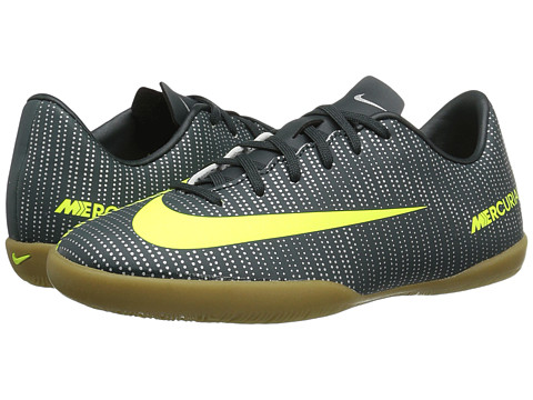Nike Kids Jr Mercurialx Vapor XI CR7 IC Soccer (Toddler/Little Kid/Big Kid) - Seaweed/Hasta/White/Volt