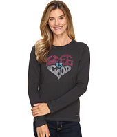 Life is good - Life is Good® Heart Long Sleeve Crusher Tee