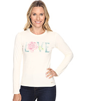 Life is good - Love Rose Long Sleeve Crusher Tee