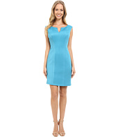 Adrianna Papell - Scuba Knit Sheath Dress