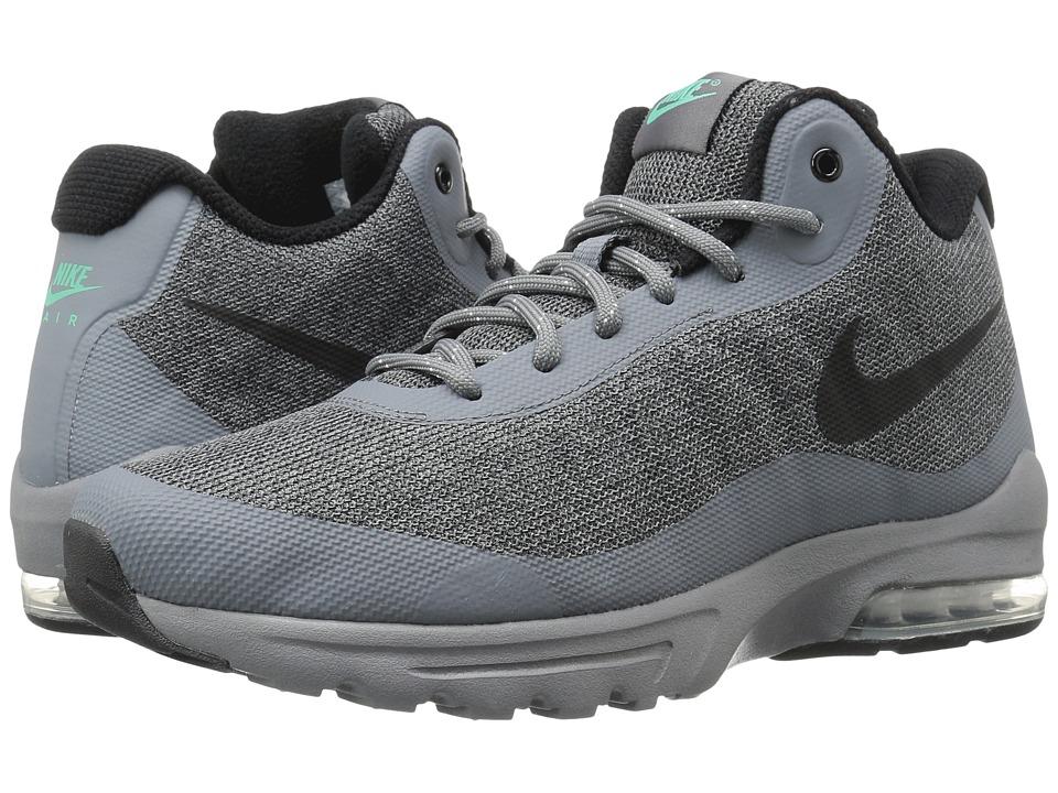 Nike Air Max Invigor Mid (Cool Grey/Black/Green Glow) Men