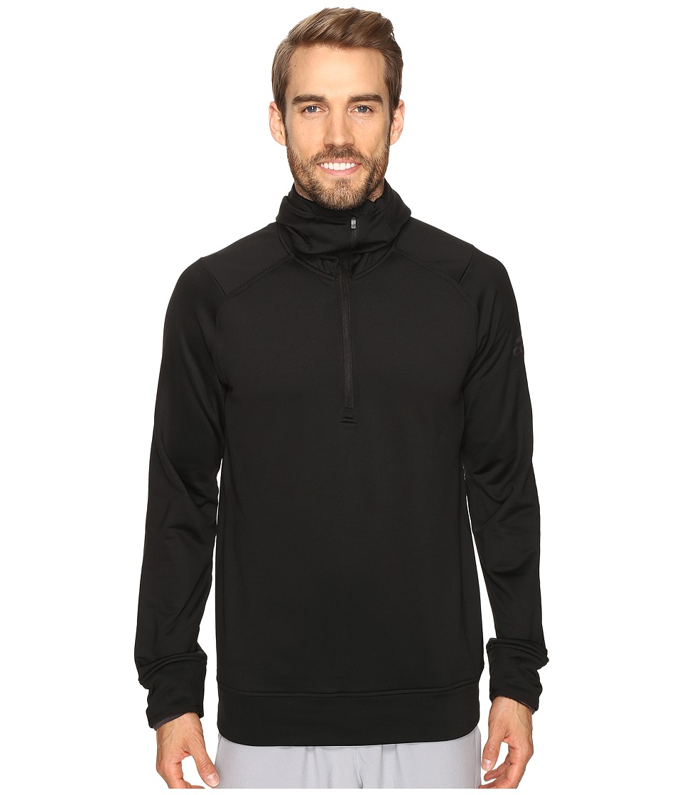 adidas CLIMAHEAT Half Zip Hoodie (Black) Men