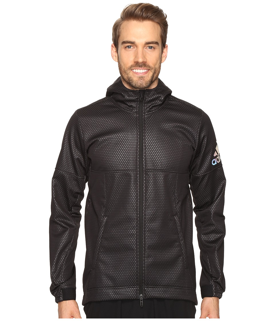 adidas CLIMASTORM Fleece Jacket (Black/Utility Black) Men