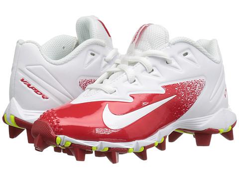 Nike Kids VPR Ultrafly Keystone BG Baseball (Big Kid) - University Red/Volt/White
