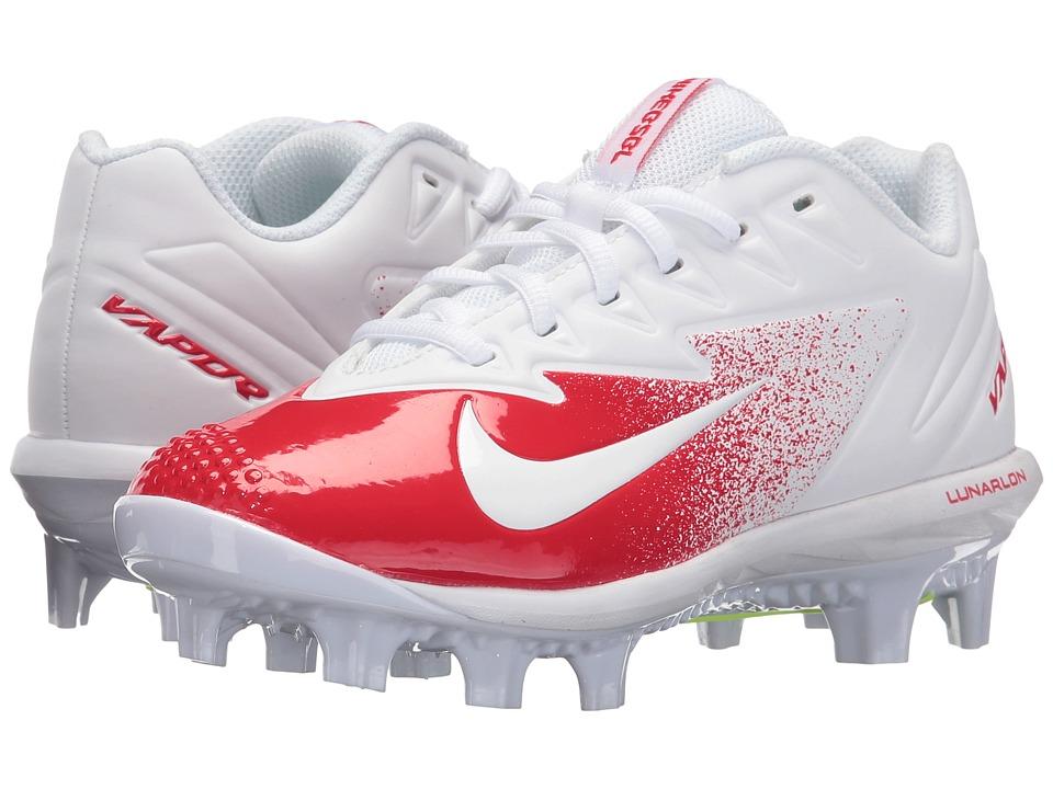 Nike Kids - Vapor Ultrafly Pro MCS BG Baseball (Big Kid) (University Red/Volt/White) Kids Shoes
