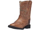 Old West Kids Boots Comfort Wear Tan Fry (Toddler) (Tan)