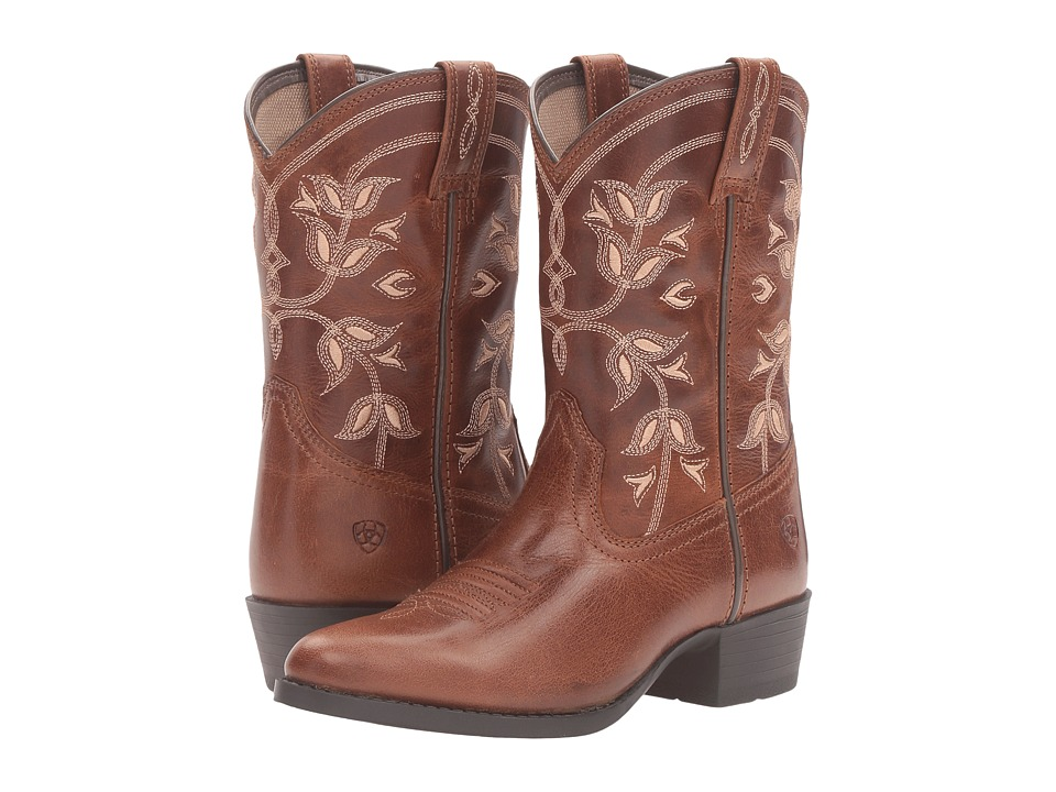 Image of Ariat Kids - Desert Holly (Toddler/Little Kid/Big Kid) (Coyote Brown) Cowboy Boots