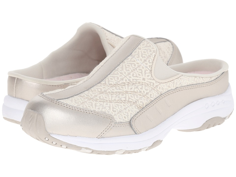 Easy Spirit - Traveltime 218 (Ivory/Ivory Leather) Womens Shoes