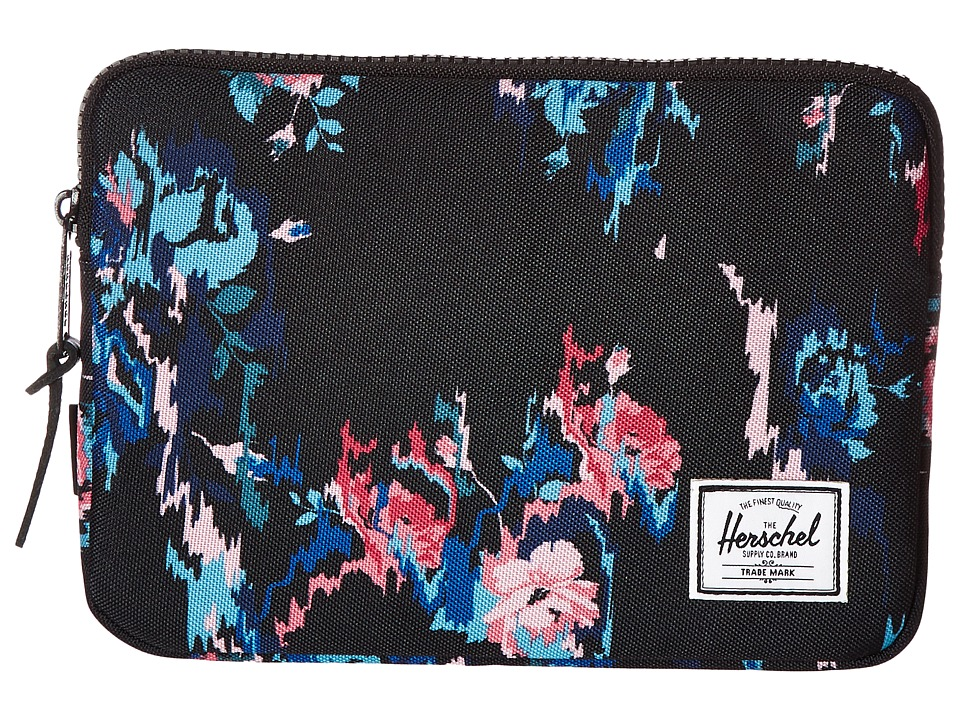 Herschel Supply Co. - Anchor Sleeve for iPad Mini (Floral Blur) Computer Bags