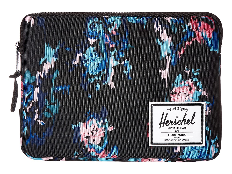 Herschel Supply Co. - Anchor Sleeve for iPad Air (Floral Blur) Computer Bags